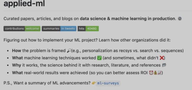 这份GitHub 2.3k星的ML论文清单拿好,工作用得上