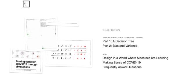 五个可视化网站,助你交互式的学习机器学习概念